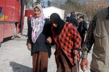 Türkmen Dağı'na heyet gönderen İHH: Çadırlara havan topu atıldı