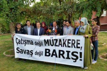 MAZLUMDER: Çatışma değil müzakere, savaş değil barış