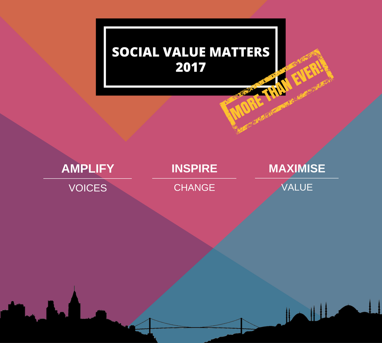 Social Value Matters 2017 programı açıklandı