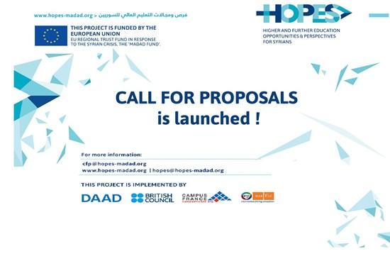 HOPES Proje Teklif Çağrısı