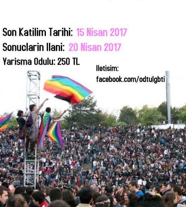 ODTÜ LGBTİ Dayanışması logosunu arıyor