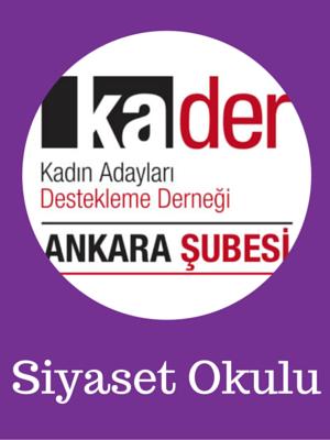 Genç Kadınlar İçin Siyaset Okulu Konya'da
