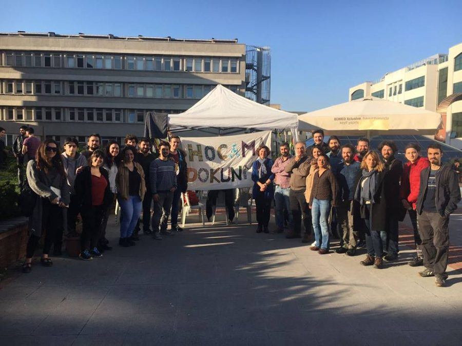 """Boğaziçi Üniversitesi'nde """"Tarihin Nöbeti"""""""