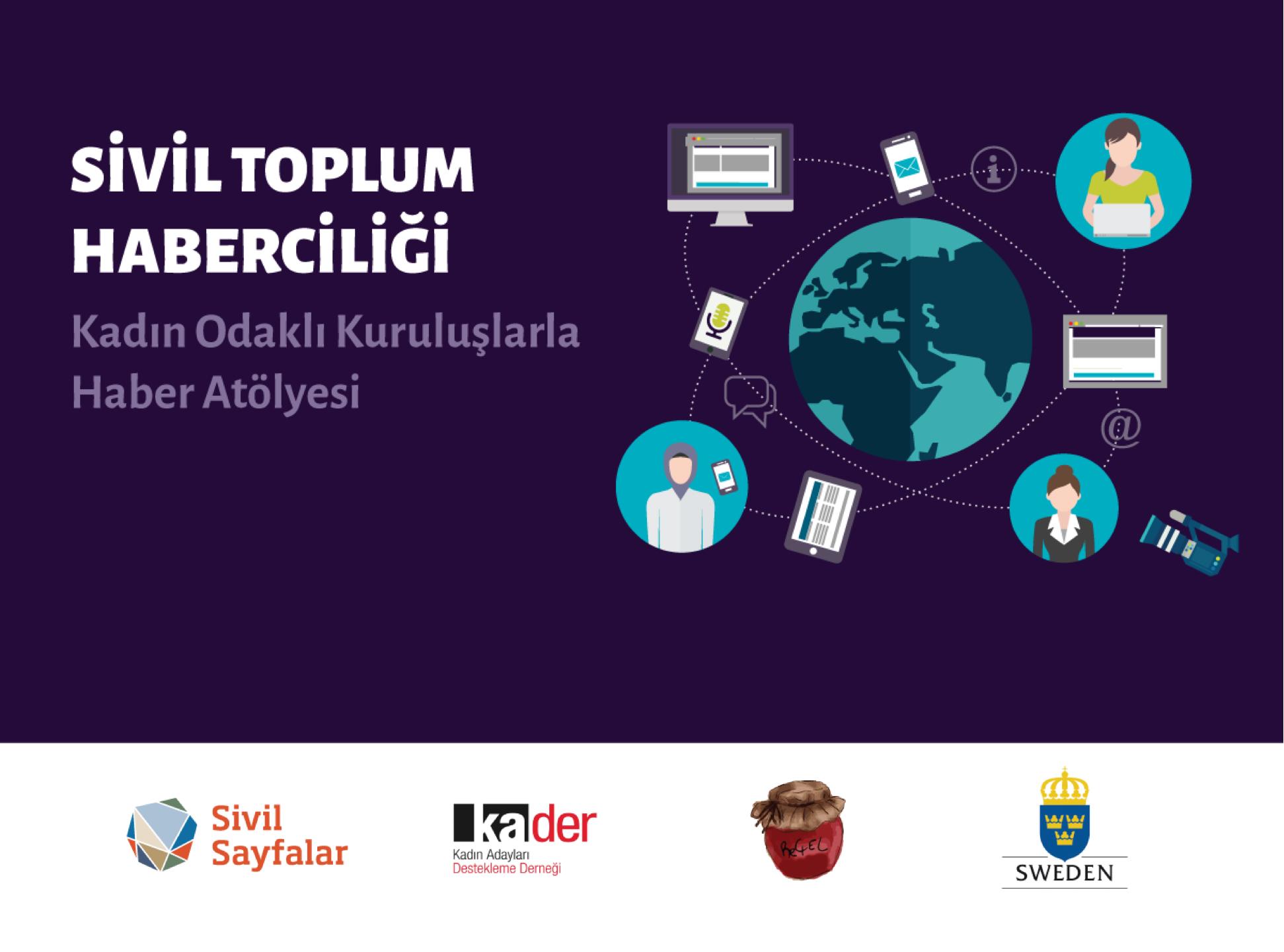 Sivil Toplum Haberciliği – Kadın Odaklı Kuruluşlarla Haber Atölyesi – Diyarbakır başvuruları açıldı