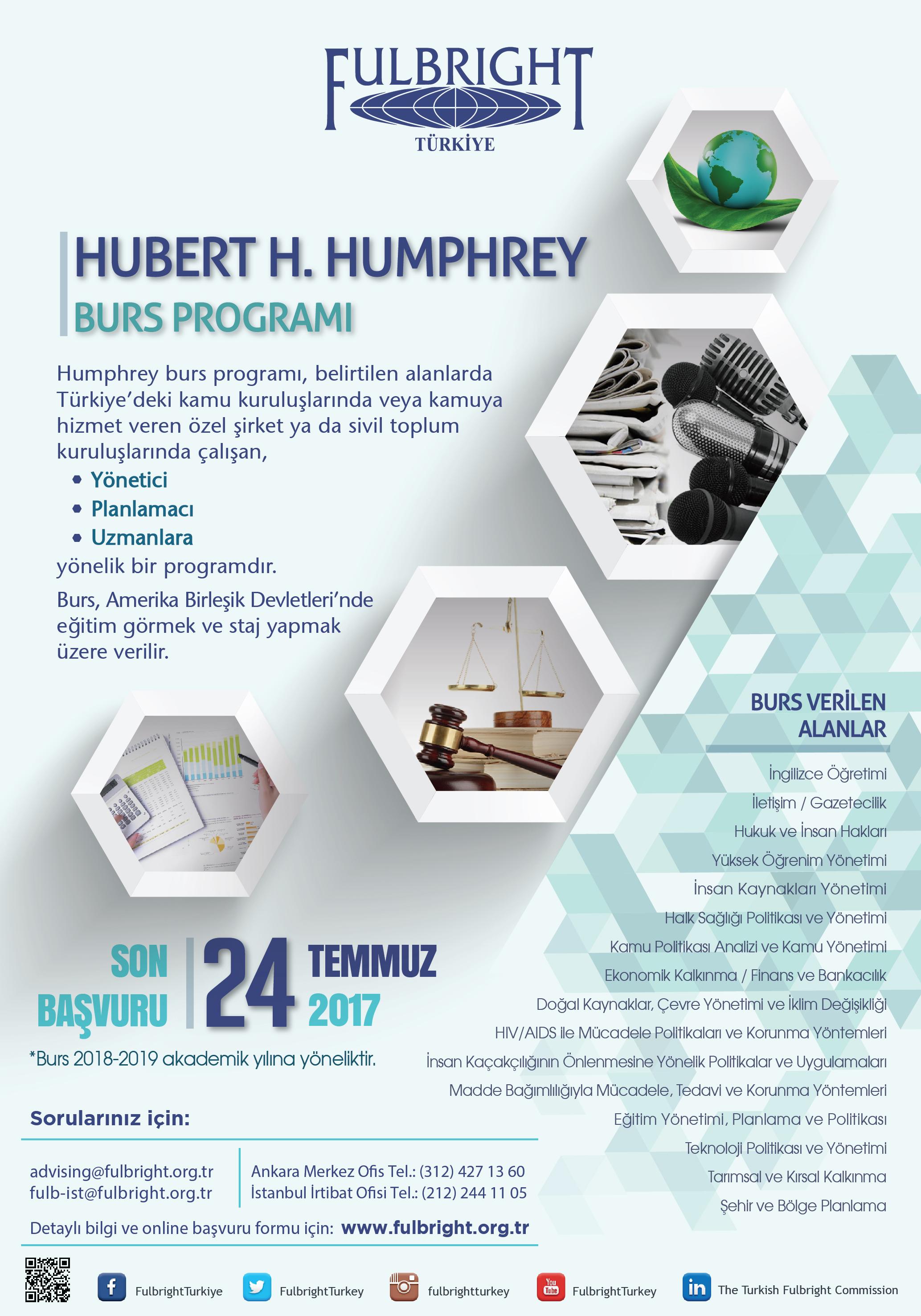 Hubert H. Humphrey Burs Programı