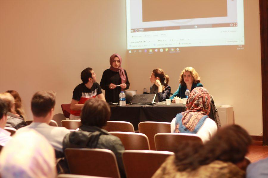 Sığınmacıların eğitim ve iş hayatı Boğaziçi Üniversitesi'nde ele alındı
