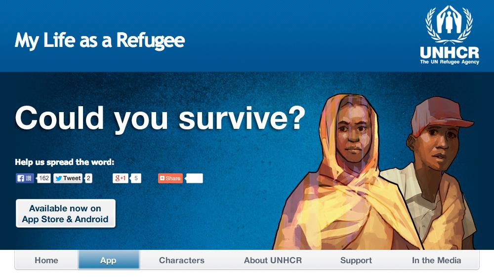 Oyun oynayarak mültecilere yardım etmek ister misiniz?