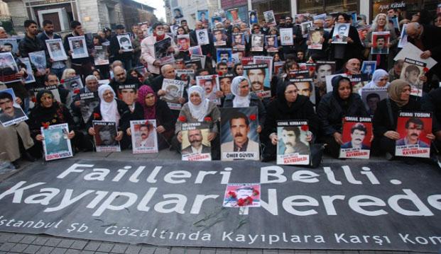 Kayıp Yakınlarının 446 Haftadır Süren Bekleyişi