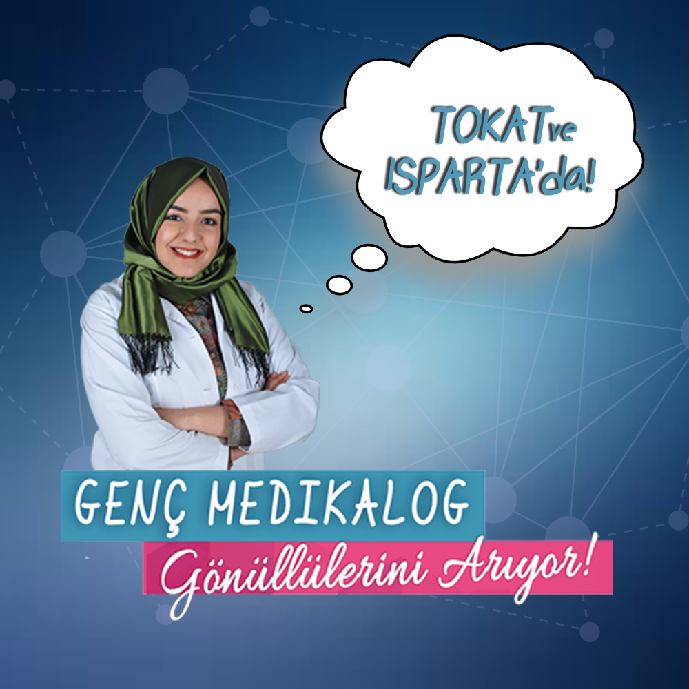 Genç Medikalog'un Tokat ve Isparta ekibi için gönüllü çağrısı