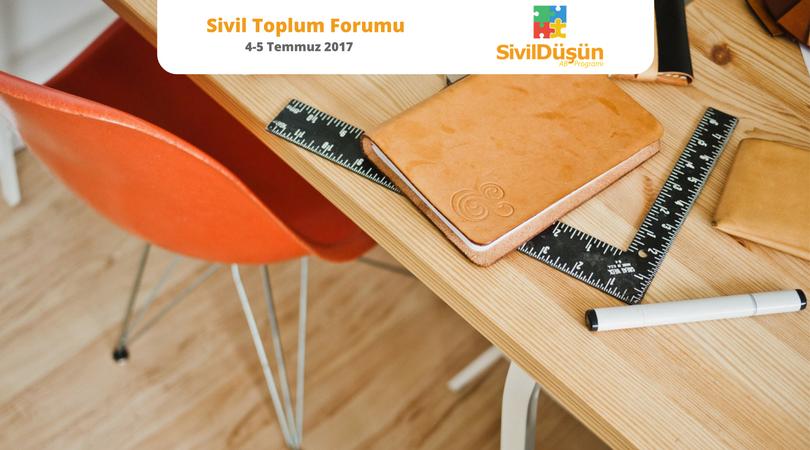 Sivil Düşün Sivil Toplum Forumu etkinlik başvuruları açıldı