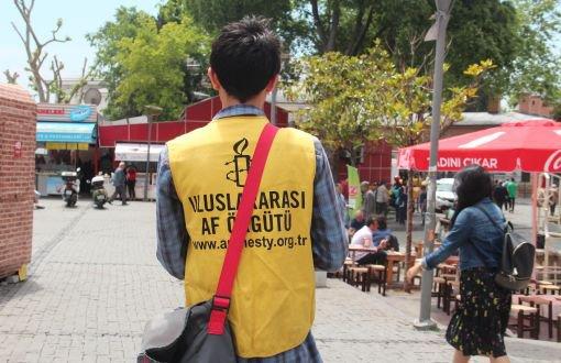 Uluslararası Af Örgütü'nde 'yüzyüzeciler' iş bırakıyor