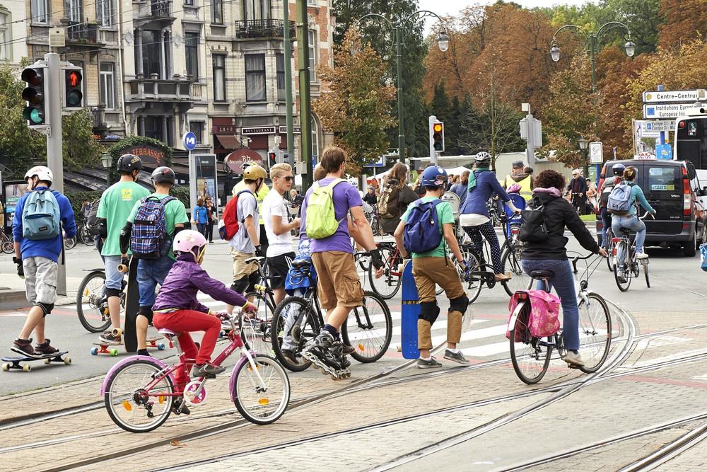 """""""Burada İlkokul Öğrencilerinin Yüzde 70'i Okula Bisikletle Gidiyor"""""""