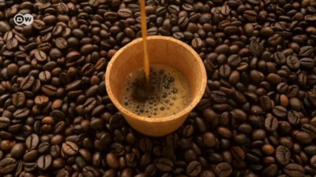 Tek kullanımlık kahve bardaklarına son! 'Organik' yenilebilen kahve bardağı üretildi