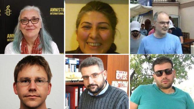 İnsan Hakları Aktivistleri Tutuklandı