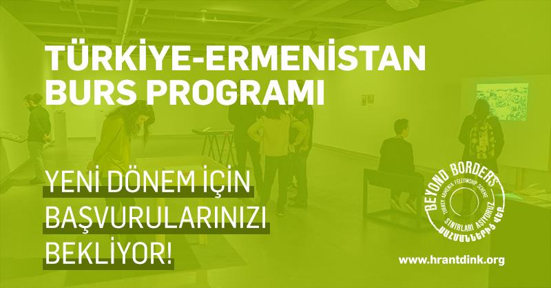 Türkiye-Ermenistan Burs Programı Yeni Dönem Başvurularını Bekliyor!