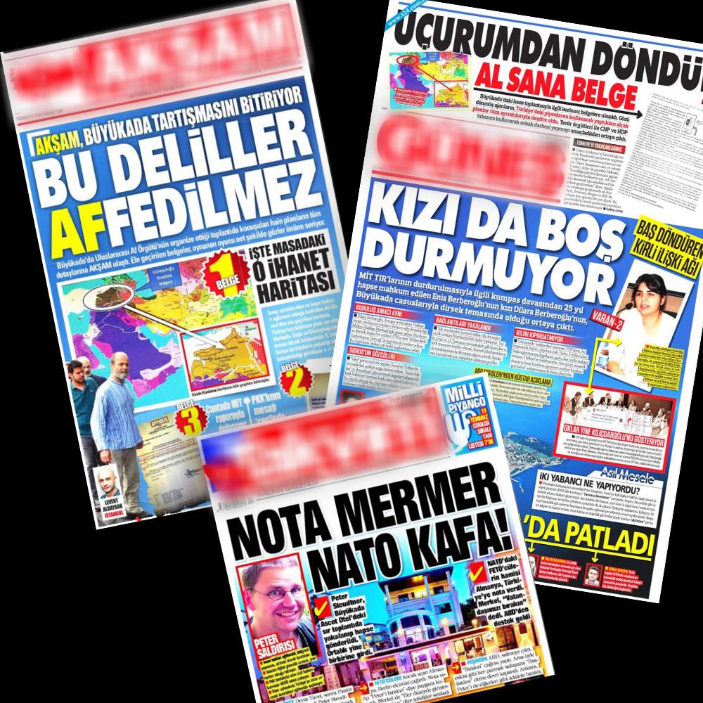 Medyada 'Operasyon Gazeteciliğine' Devam
