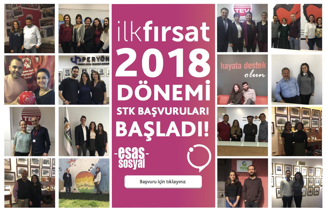 'İlk Fırsat' 2018 dönemi STK başvuruları ile başlıyor