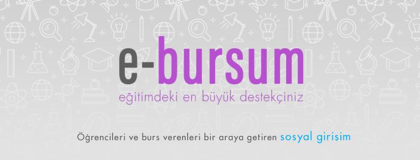 """E-Bursum ile """"Herkes için Ulaşılabilir Burs"""""""