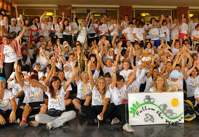 Kadınlar Barış İçin Lübnan'da Pedal Çevirecek!