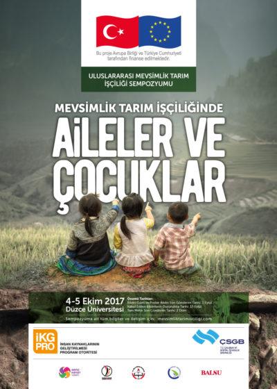 Genç Hayat Vakfı'ndan Uluslararası Mevsimlik Tarım İşçiliği Sempozyumu