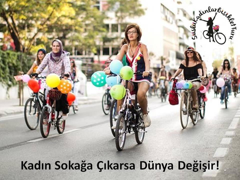 Erkeklikten ve Rekabetten Arındıran Etkinlik: Süslü Kadınlar Bisiklet Turu