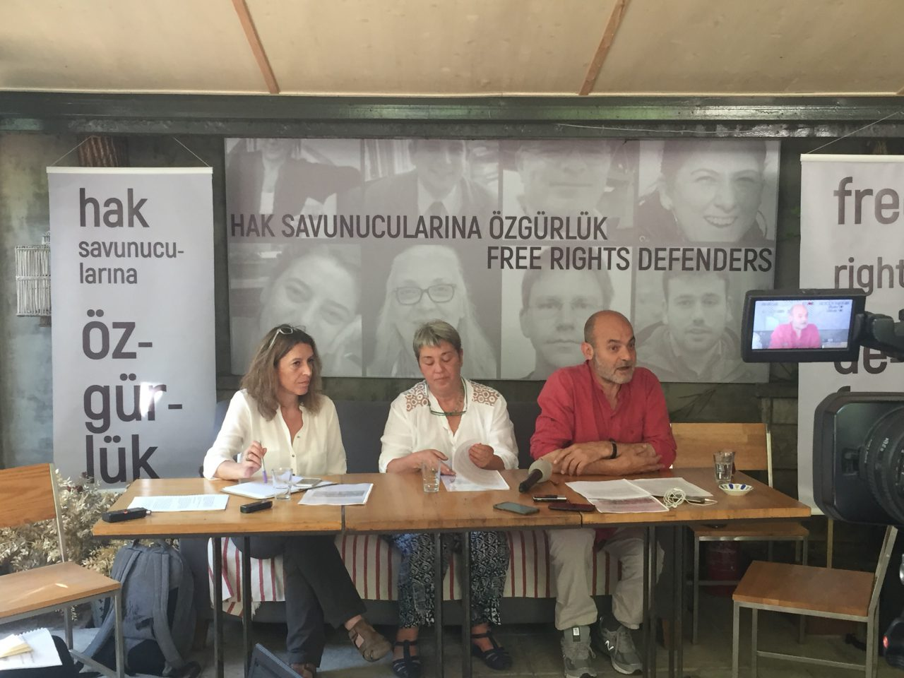 Tutuklu İnsan Hakları Savunucularına Destek Toplantısı