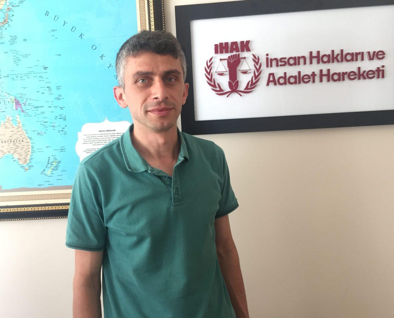 İHAK  Genel Sekreteri Ahmet Zeki Olaş: Siyasi Eleştiriler İlkesel Tutumumuzu Değiştirmez