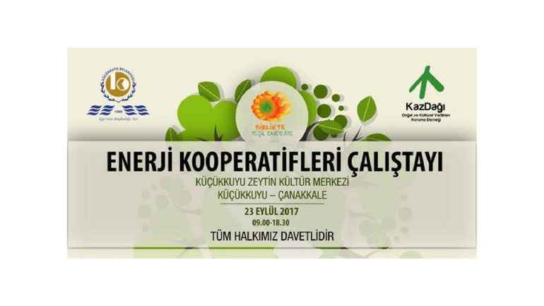 Enerji Kooperatifleri Çalıştayı