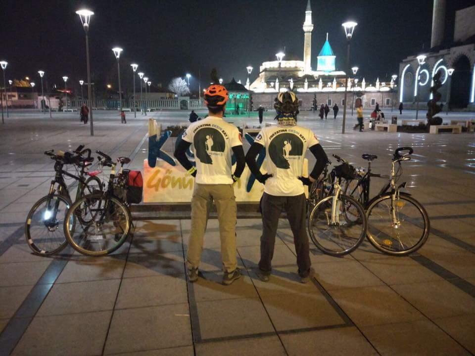 Konya'da Toplu Taşımada Bisiklet İçin İzin Kampanyası
