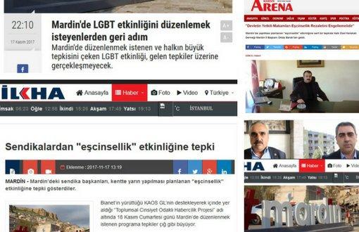 Haber Atölyemizi Yapamadık, LGBTİ Etkinlikleri Yasak; Ses ve Sessizlik