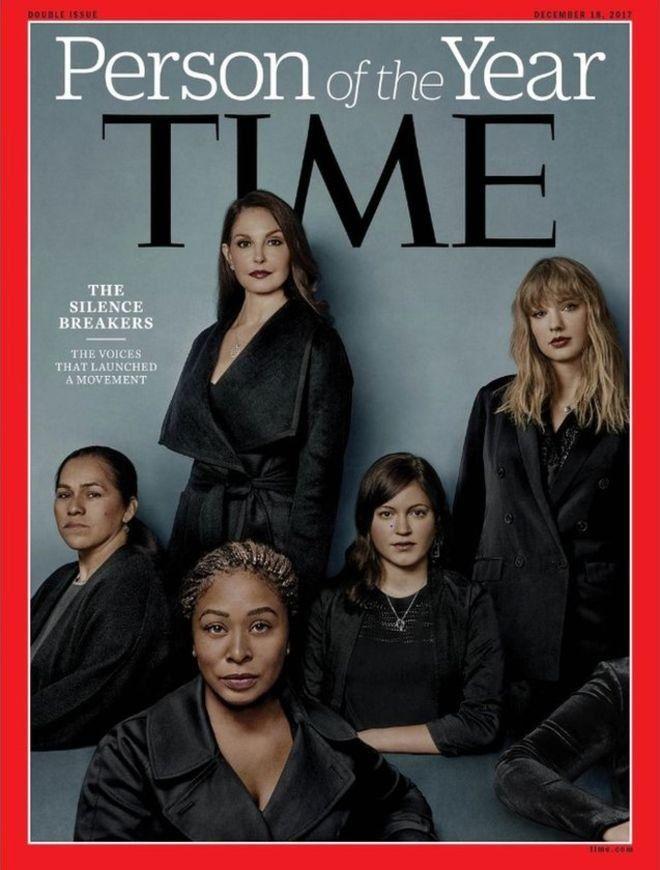 Time dergisi 'Yılın Kişisini' seçti: #MeToo deyip tacizi ifşa eden kadınlar