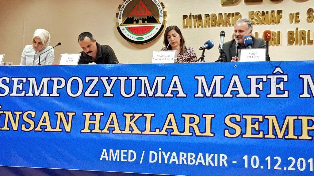 """""""Benim kolumun yokluğu Türkiye'de insan haklarının yokluğunun da en net göstergesidir"""""""