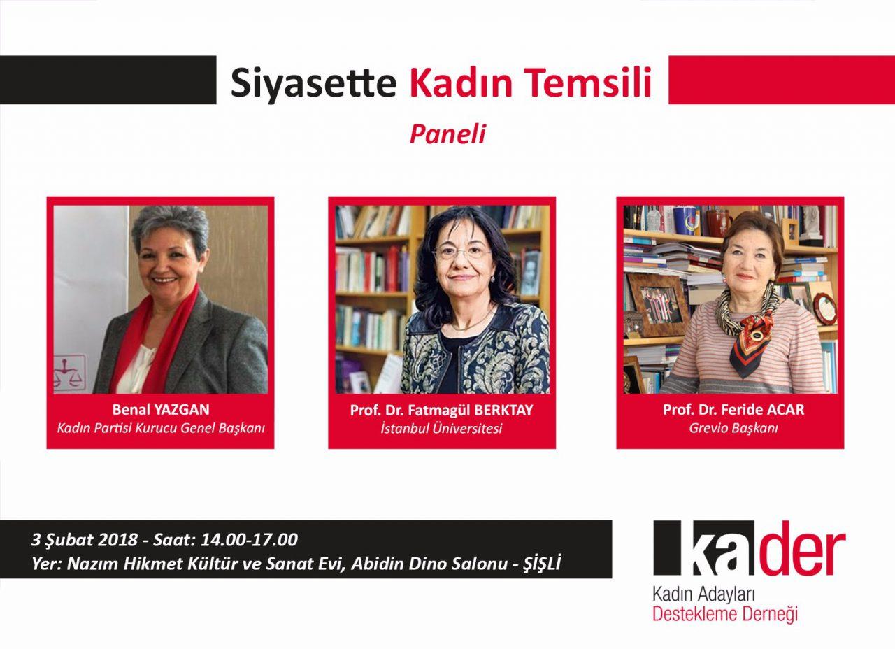 Siyasette Kadın Temsili Paneli
