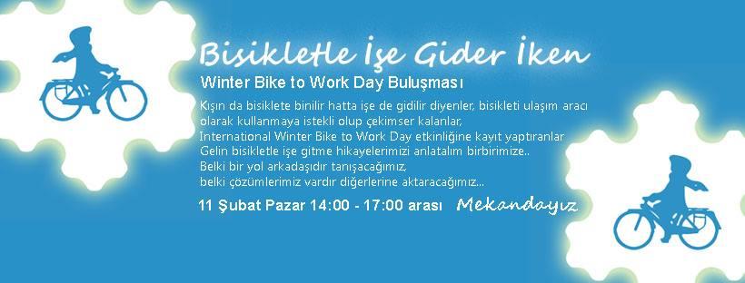 Bisikletle İşe Gider İken