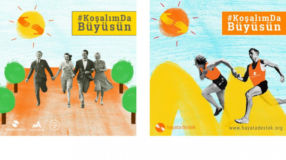 Hayata Destek Takımı Yenidoğanlar için Runatolia'da Koşuyor