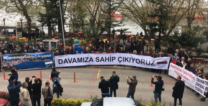 """People of Bartın Stand Together against the Planned Thermal Power Plant: """"We are at the Court to keep Amasra from Turning into a Hell!"""""""
