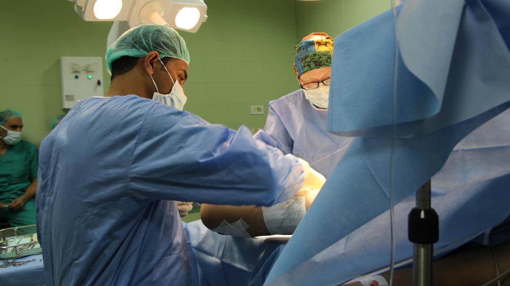 Sınır Tanımayan Doktorlar Gazze Şeridi'nde Yaralananlar İçin Çalışmalarını Artırıyor