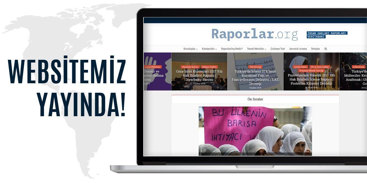 Raporlar.org Yayında!