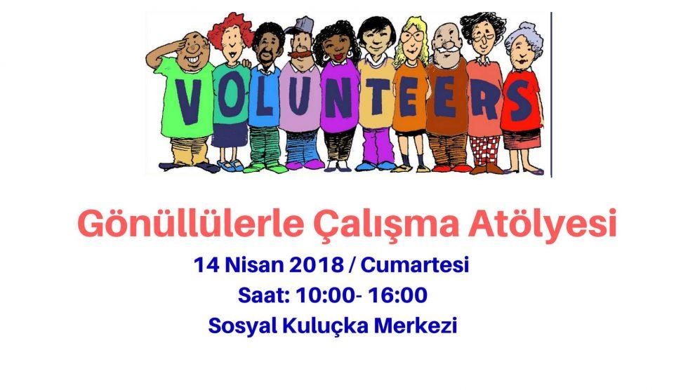 Sosyal Kuluçka Merkezi'nden Gönüllülerle Çalışma Atölyesi