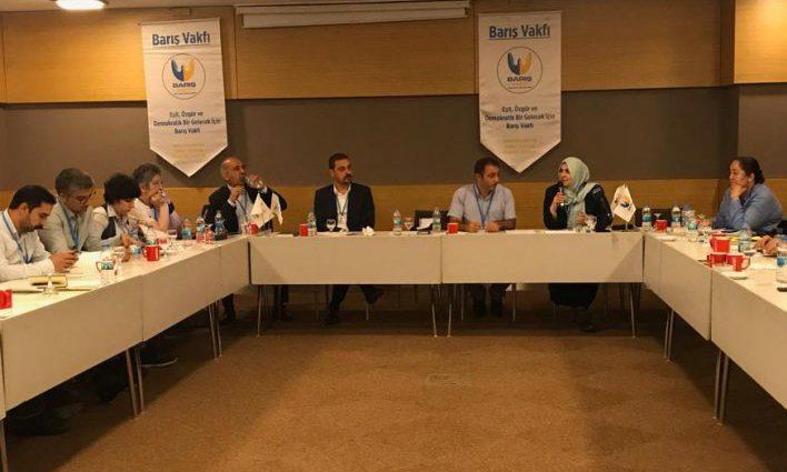 Barış Vakfı Uluslararası STK Deneyimi Çalıştayını Kitaplaştırdı