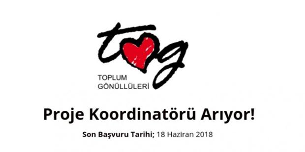 Toplum Gönüllüleri Vakfı Proje Koordinatörü Arıyor!
