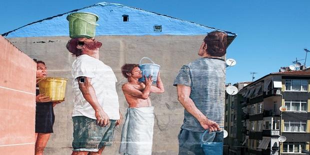 Bir Kadıköy Klasiği: Mural İstanbul Başlıyor