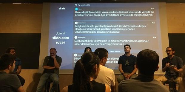 Impact Jorunalism Day, Fransız etki iletişimi Platformu Sparksnews ve Impact Hub Global Ortalığıyla Gerçekleşti