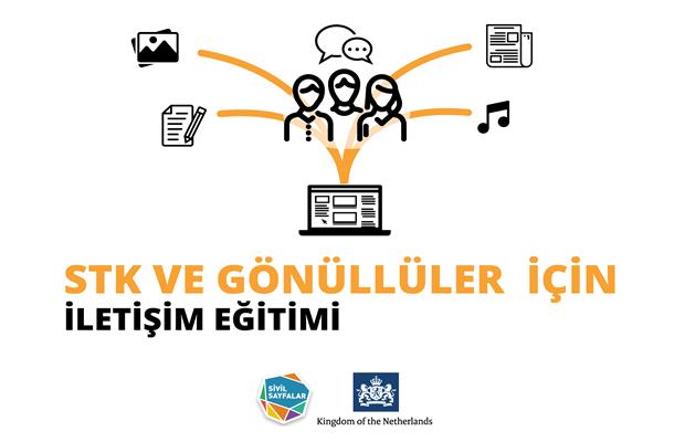 Sivil Sayfalar STK ve Gönüllüler İçin İletişim Eğitimi Başvuruları Başladı