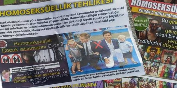 Homophobic Handouts in Osmaniye, after İzmir and Ankara