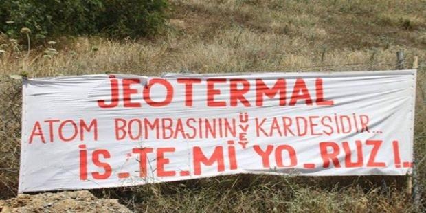 İzmir Karabağlar'da Jeotermal Sondaj Çalışmasına Karşı Mücadelede 9. Gün