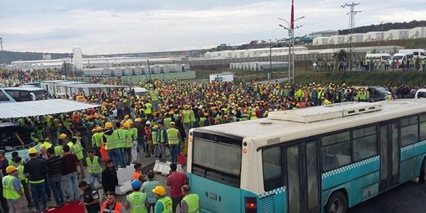 """3. Havalimanında İşçi Eylemi: """"İşçilerin En Temel İhtiyaçları Bir Maliyet Hesabı Olarak Görüldü"""""""