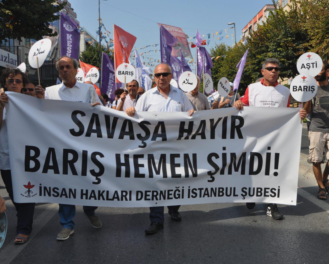 """1 Eylül Dünya Barış Günü'nde: """"Barıştan, Demokrasiden Vazgeçilemez"""""""
