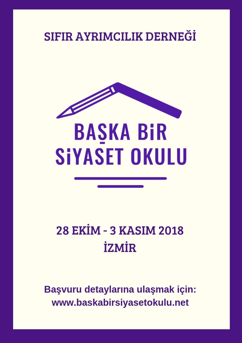 Başka Bir Siyaset Okulu 2018