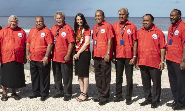 """49. Pasifik Adaları Forumu'nda 18 Ülkenin Liderinden """"En Büyük Tehdit İklim Değişikliği"""" Uyarısı"""